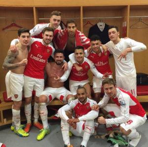 Arsenal-Selfie